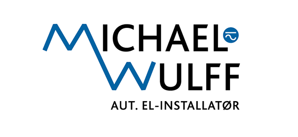 Redesign af logo for Michael Wulff