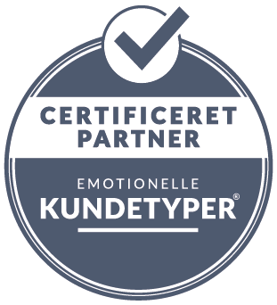 Emotionelle kundetyper - certificeret partner